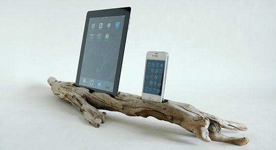 bastelideen-für-idock-aus-holz_kreative-bastelideen-für-diy-iPhone-und-iPad-dock-station