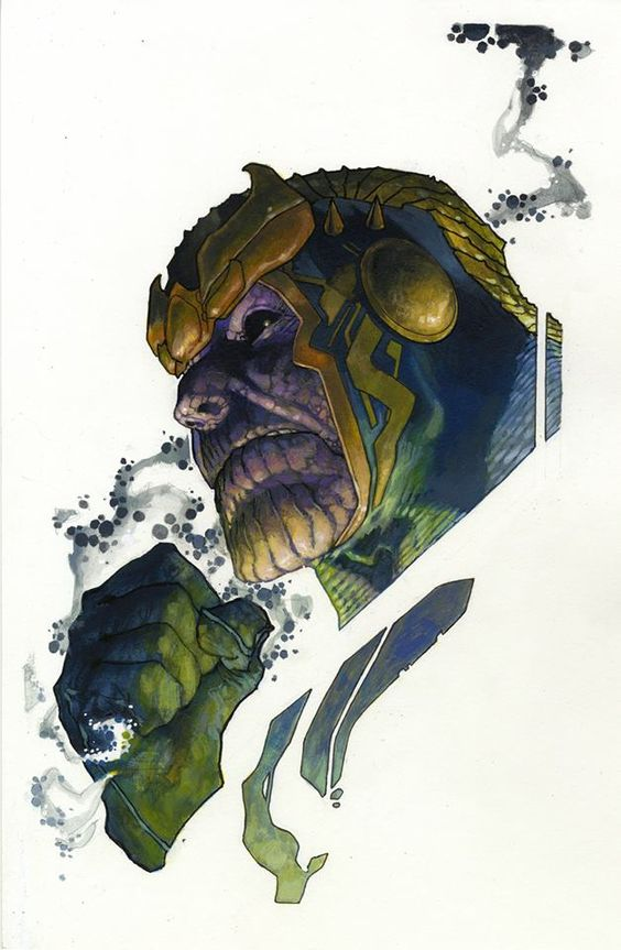Thanos by Simone Bianchi