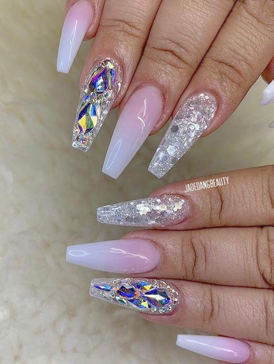 Truubeautys Nail Designs Bling Bling Acrylic Nails Bling Nails