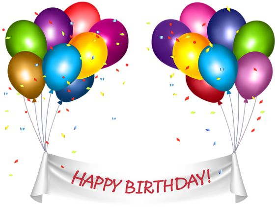 This Png Image Transparent Happy Birthday Banner And Baloons Png Clip Art Is Available F Happy Birthday Clip Art Happy Birthday Banners Happy Birthday Words