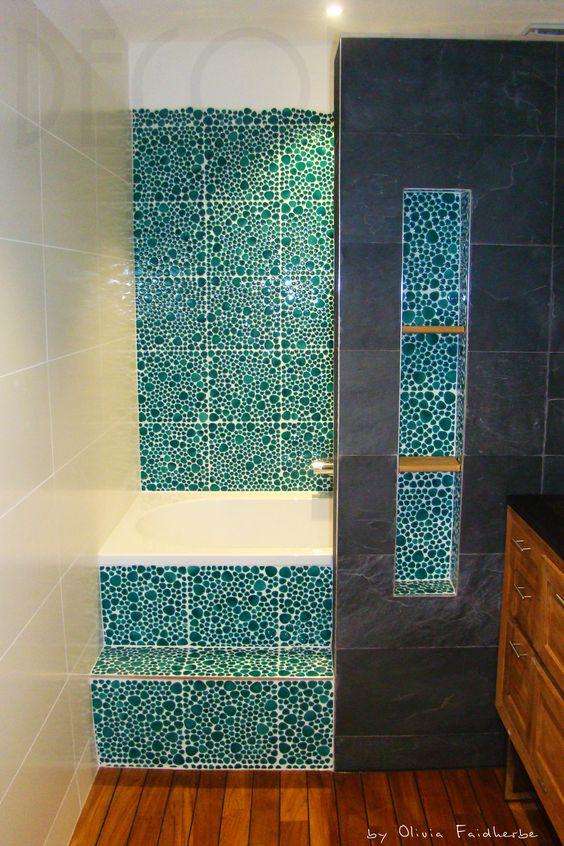 Ou comment int grer une baignoire dans une petite salle de for Creer une petite salle de bain