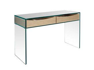Mesa de escritório de vidro GULLIVER 2 - T.D. Tonelli Design