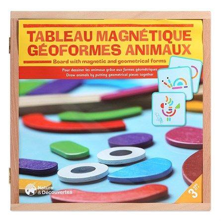 Tableau magnétique géoformes animaux