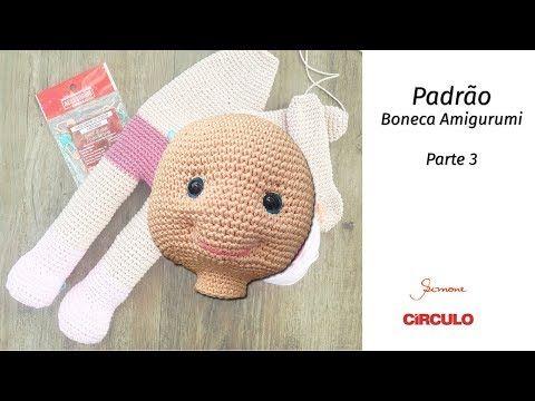 Boneca Dedé amigurumi no Elo7 | Crochetados por Angela Witt (B7D514) | 360x480