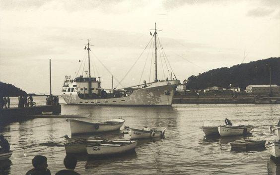 Muelle Navia en 1969
