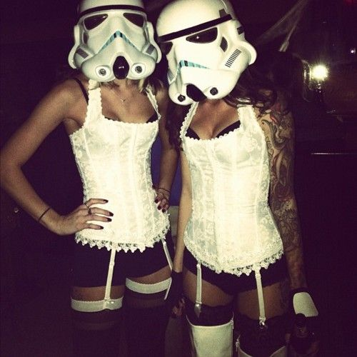 not a fan of star wars but this would be a cool costume