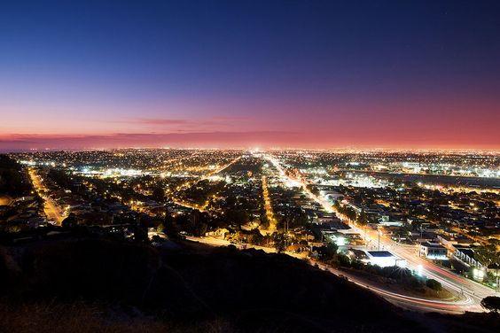 Nightfall in Palos Verdes