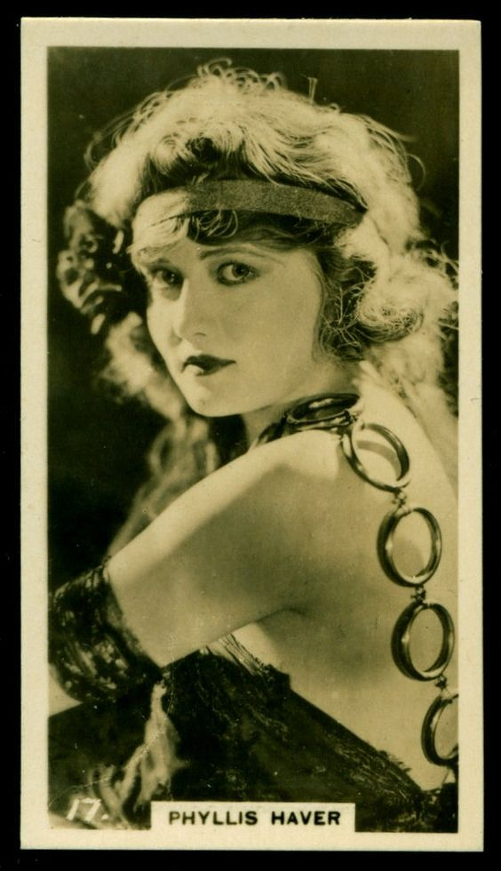 Todos os tamanhos | Cigarette Card - Actress, Phyllis Haver | Flickr – Compartilhamento de fotos!