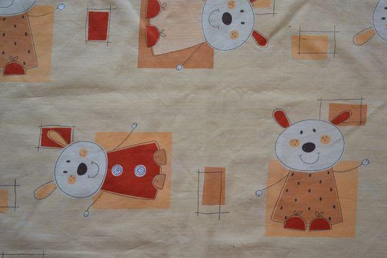 Baumwollstoff | Hasen | Kinderstoffe | www.feendesign-shop.de