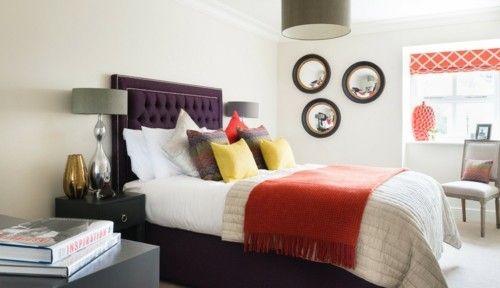 Die besten 25+ Lila wandspiegel Ideen auf Pinterest Lila - schlafzimmer beige lila