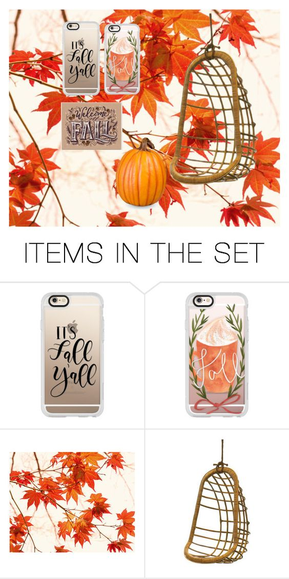 """Fall set#1"" by prettydiva10a ❤ liked on Polyvore featuring art"