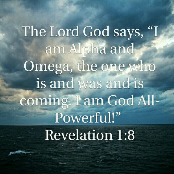 HE IS THE ALPHA AND OMEGA!