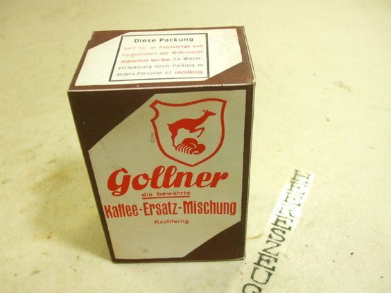 kaffee gollner ration ersatz mischung wehrmacht verpflegung marketenderware ebay original. Black Bedroom Furniture Sets. Home Design Ideas