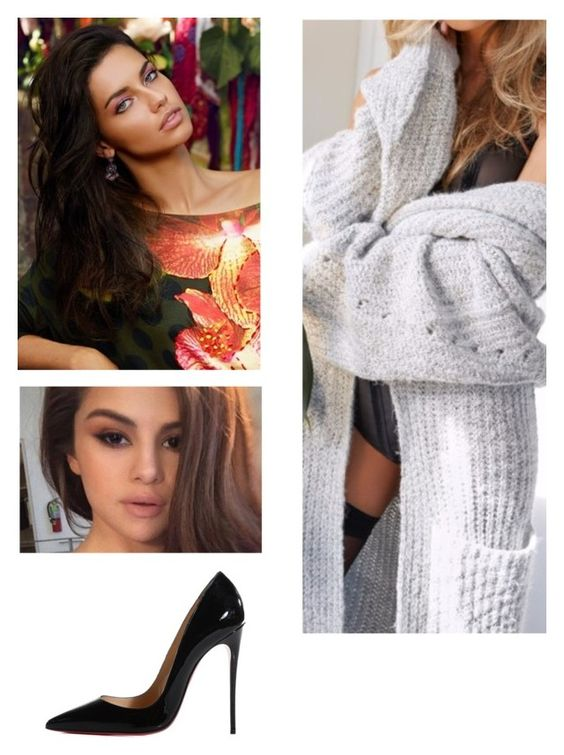 """""""Untitled #1719"""" by jacie ❤ liked on Polyvore featuring Nasty Gal, Desigual and Christian Louboutin"""