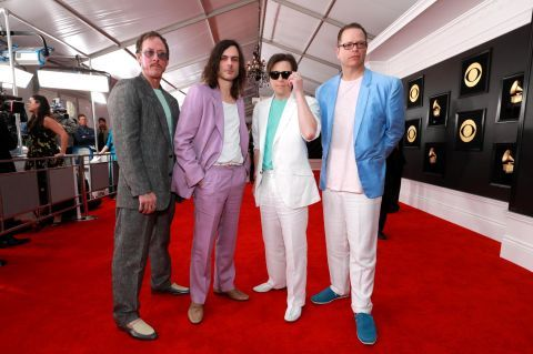 Grammys Red Carpet 2019 Photos From Music S Biggest Night Grammy Florida Georgia Line Rivers Cuomo