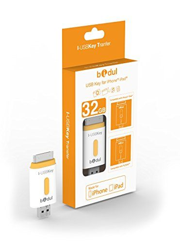 i-USBKey 32GB : Pen Drive USB 32GB para iPhone y iPad  Bidul