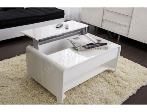 Petite Table De Salon Pas Cher Grande Table Basse Blanche Inside Table De Salon Blanche