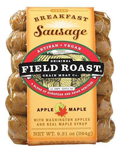 Field Roast Breakfast Sausage Apple Maple 9 31 Ounce Pack Of 12 Apple Maple Sausage Breakfast Field Roast