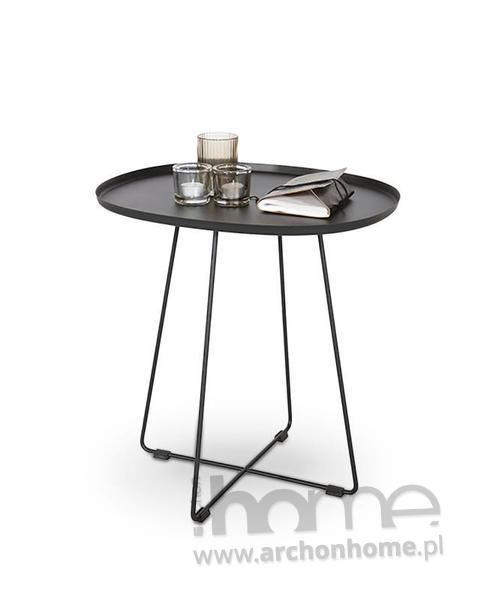 Stolik kawowy industrialny, idealny do nowoczesnych