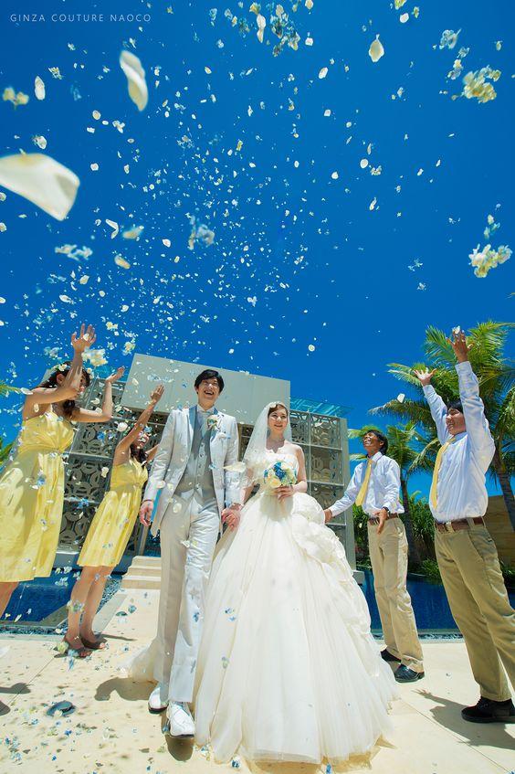 開放感ある青い空の下でのウェディングは一生の思い出!バリでの結婚式一覧♡ウェディング・ブライダルの参考に♡