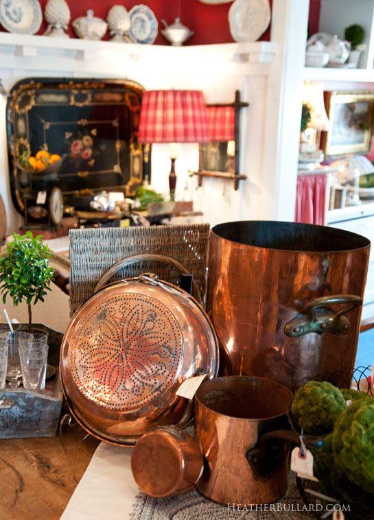 vintage copper pots • ˚ ˚ ˛ ˚ ˛ ★ 。* 。 ° 。 ° ˛˚˛ * *。*˚ ˚ ˛ •˛•˚ *。˚ ˚