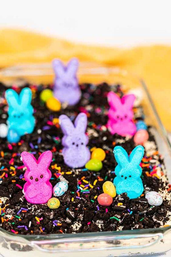 Easter Dart Cake