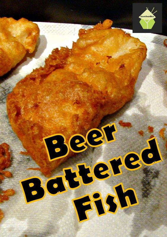 The best ever beer battered fish recipe in the world for Beer battered fish