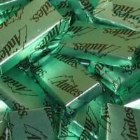 Andes Parfait Mints (tiles for the gingerbread house)