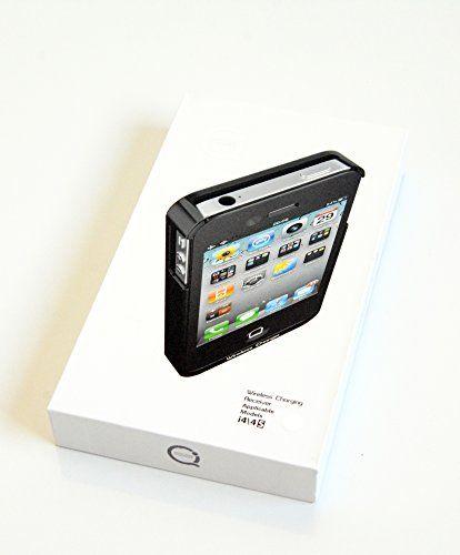 BIDUL i-Wireless Case 4W : Coque de chargement iPhone 4 / 4S pour chargeur sans fil (technologie QI) - Couleur : Blanche Pour recharger votre iphone 4 sur un chargeur sans fil norme qi disponible aussi chez bidul