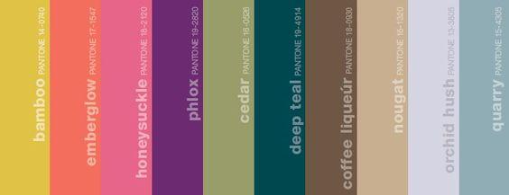 Fall 2011 Fashion Colors