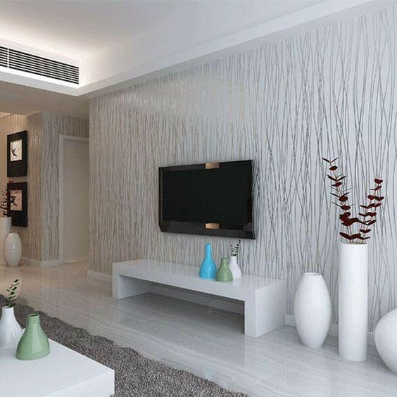 vliestapeten, die frische ins wohnzimmer bringen | tapeten | pinterest, Wohnzimmer dekoo