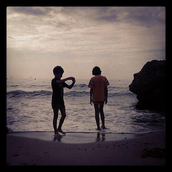 En el #garraf muy tempranito #playa by @Miguel Mejias