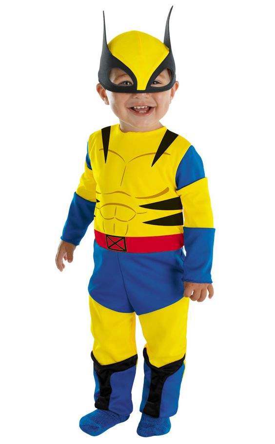 Wolverine costume for my little wolverine.