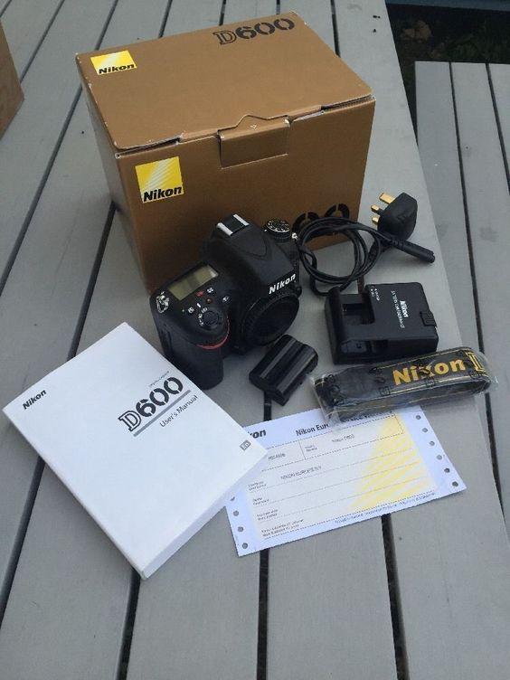NIKON D600 24MP DIGITAL SLR CAMERA BODY - very low usage - D 600 https://t.co/hxMK0LXlax https://t.co/DE0FaaWmx5