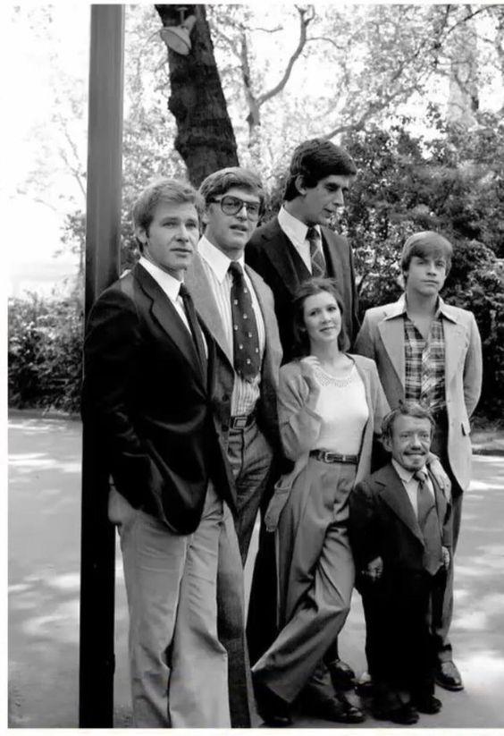 The original Star Wars Cast