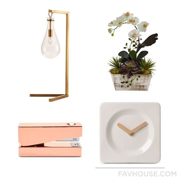 Room Tip Including Desk Lamp Flower Planter Leff Amsterdam Clock And Tom Dixon From August 2016 #home #decor