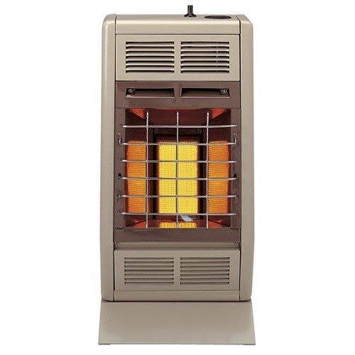 Empire Infrared Heater Natural Gas 10000 Btu Thermostatic Control