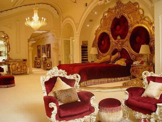 Red Mansion Master Bedrooms Luxury Master Bedrooms In Mansions | African  Greed   Robert
