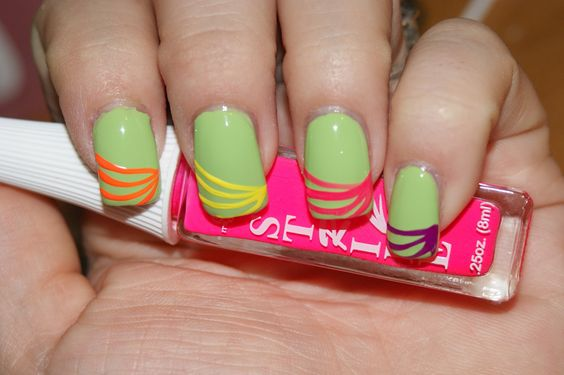 Princess Polish: Swatch and Review: It's So Easy Saturday - Hypnotic Swirls