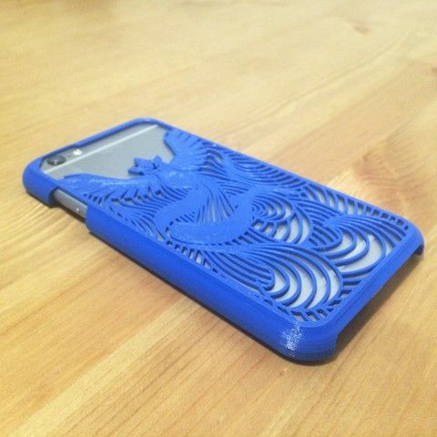 iPhone 6/6S Case Articuno (pokemon) for PLA,ABS material 3D model, Technoviking