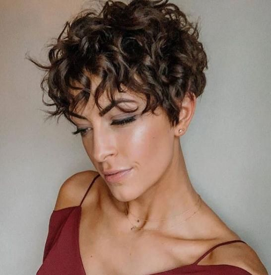2020 New Short Pixie Haircut For Women Latest Fashion Trends For Girls Short Curly Haircuts Curly Pixie Hairstyles Short Pixie Haircuts