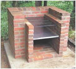 How to build an outdoor charcoal grill planters for How to build a stone house yourself