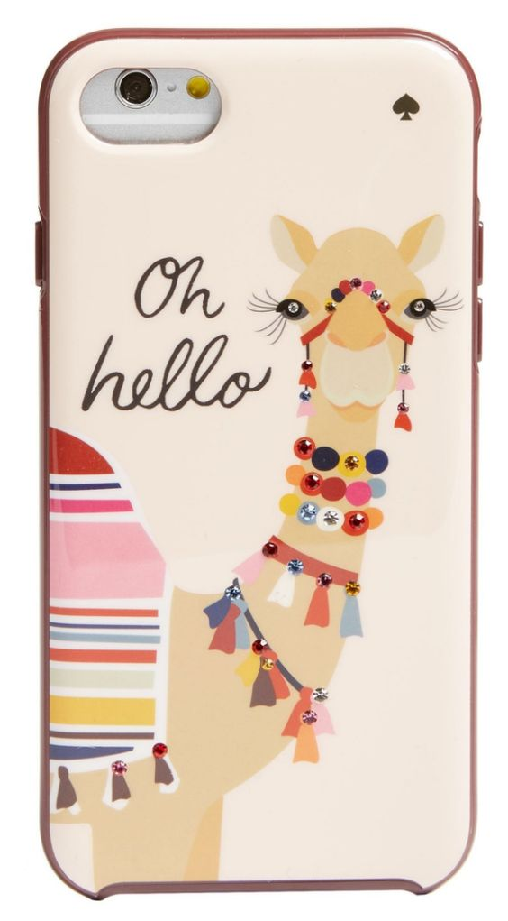 Darling camel iPhone case