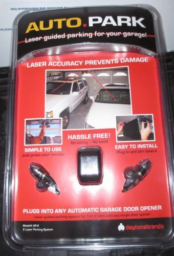 Ap 2 Auto Park 2 Laser Guided Garage Parking System For 2