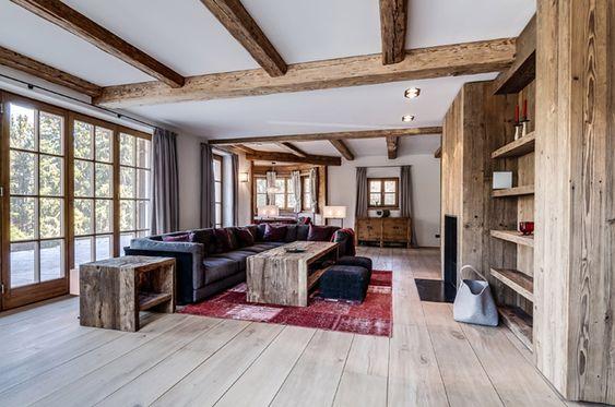 Wohnzimmer-mit-Altholzjpg 800×530 Pixel Einrichtung Alpin Style - fachwerk wohnzimmer modern