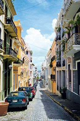 Old San Juan had some great local shops with people dancing in the street on every corner. We had a great time there!
