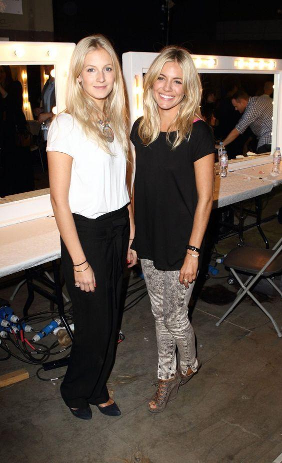 Pin for Later: Kennt ihr schon die Geschwister der Stars? Sienna und Savannah Miller