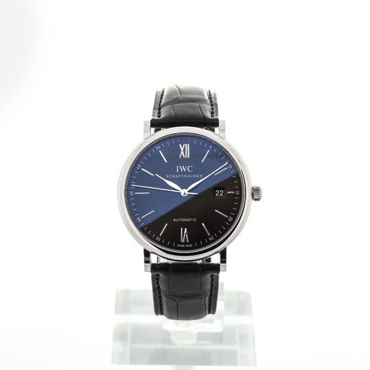 IWC Portofino Automatic Black sicher kaufen - Geprüfte Uhren von Montredo