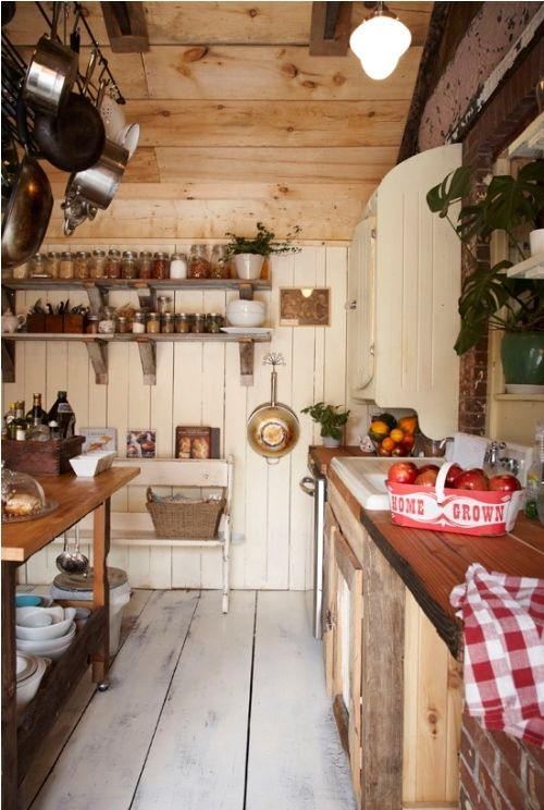 country kitchen..