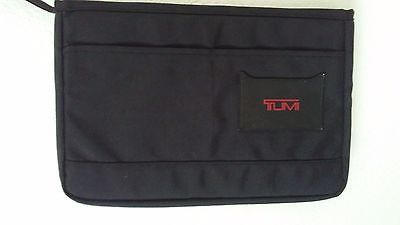 Tumi-Black-Ballistic-Nylon-Padded-Laptop-Notebook-Computer-Bag-Insert